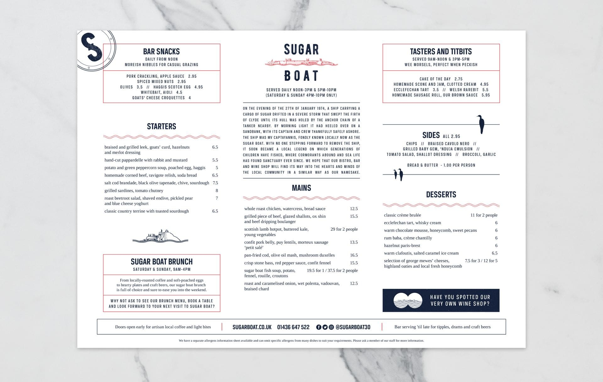 Sugar Boat - Helensburgh